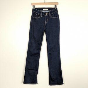 Levi's 815 Curvy Bootcut Dark Wash Jeans Size 26